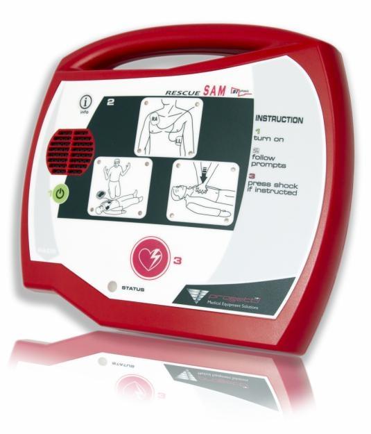 Defibrillatore semiautomatico rescue sam for Pannello portaoggetti neonato amazon