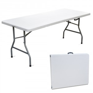 Tavoli Pieghevoli Alluminio Per Mercatini.Tavolo Pieghevole Rettangolare Migliore 183 X 76 X 74 Per Catering Sagre Mercatini Buffet Riunione