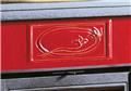 Stufa a Legna La Nordica ROSSELLA PLUS Liberty Rivestimento in Maiolica Potenza Termica Nominale 8 KW Colore Pergamena