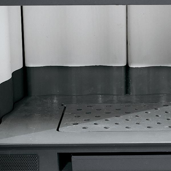 Inserto a Legna per caminetto  INSERTO 80 LA NORDICA Crystal Ventilato Evo Potenza Termica Nominale 9.4 kW 269 m3 Riscaldabili Colore Nero codice 6016813