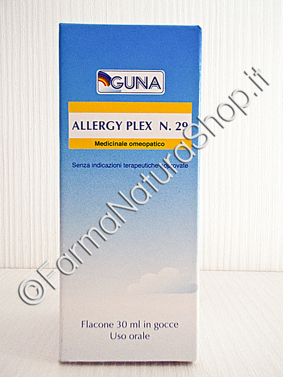 GUNA ALLERGY PLEX N.29