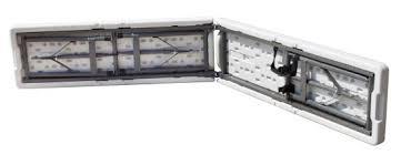 Panca pieghevole in polipropilene robusta per catering 183x28 x trasportare