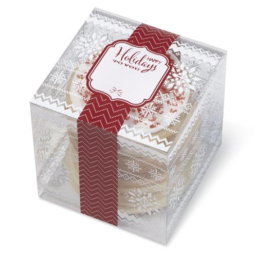 Confezioni Per Regali Di Natale.Set 3 Scatole Per Regalare Biscotti Di Natale