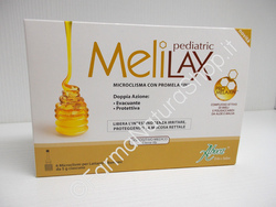 ABOCA - MELILAX PEDIATRIC Micro-enemas for infants and children