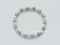 PBR1669 Bracciale di perle Miluna Multicolor