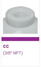 "Omnipure K5586-CC Filtro in Linea 10"" Gac+Polifosfati."