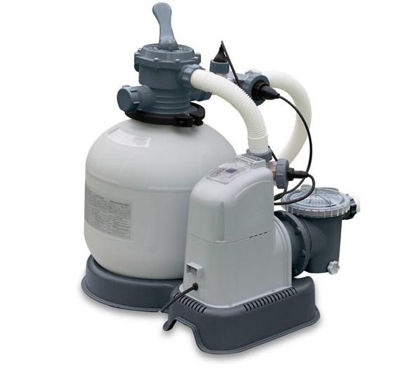 Schema Elettrico Per Piscina : Pompa a sabbia con clorinatore combinato intex per piscine