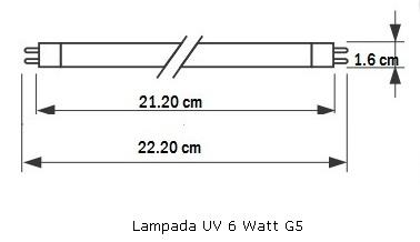 Lampada UV Philips TUV 6W FAM per debatterizzatore acqua.