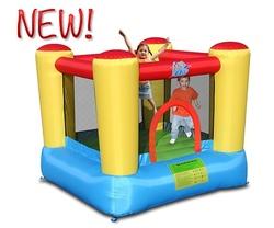 Castello gonfiabile per bambini Happy Hop linea ACTION AIR SALTERELLO TOP code 9420