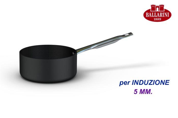 Casseruola cm 20 media 1 manico Ballarini Serie Professionale 6000 mm5 cm 20 h 9 per induzione codice 6026.20