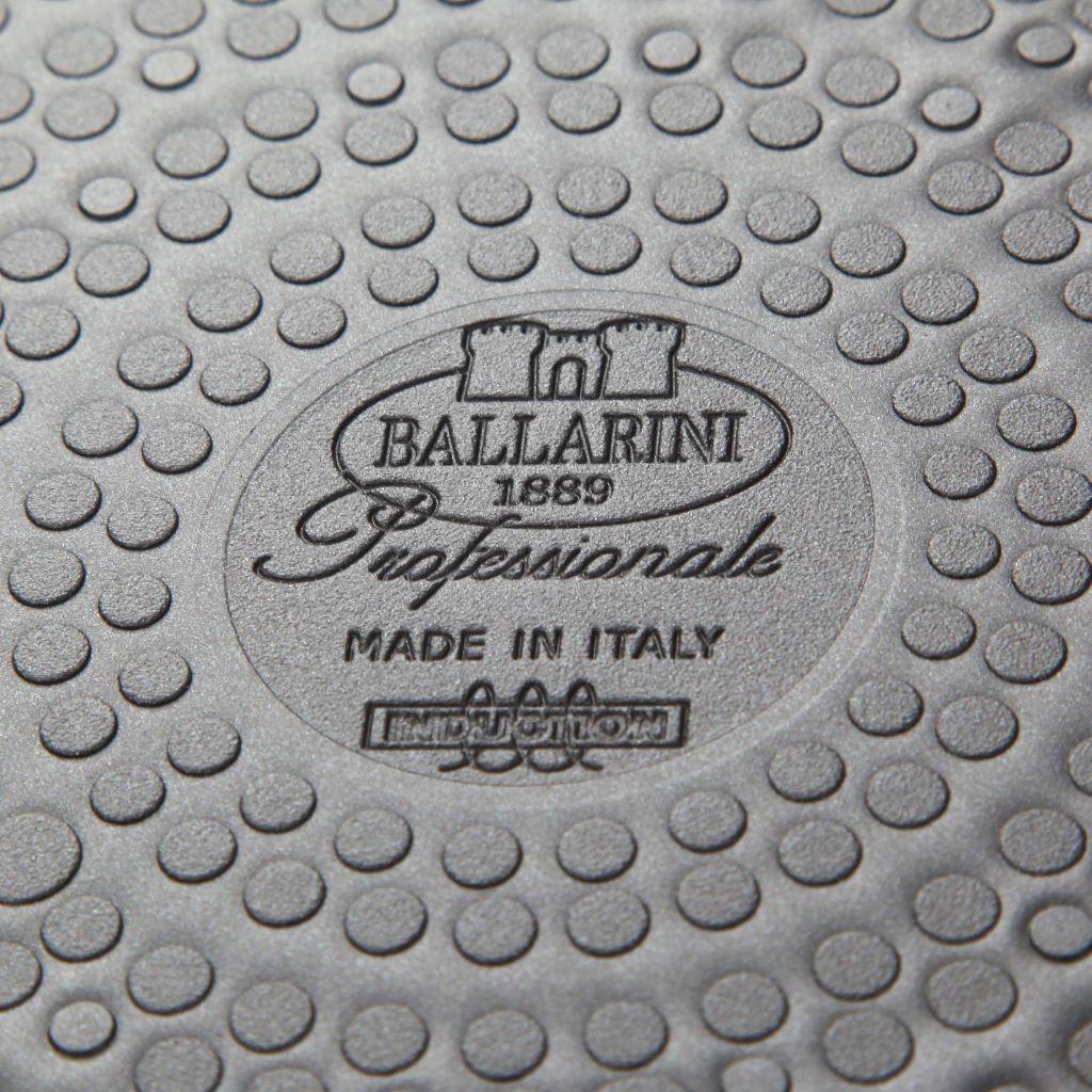 Casseruola cm 24 media 1 manico Ballarini Serie Professionale 6000 mm5 cm 24 h 11 per induzione codice 6026.24