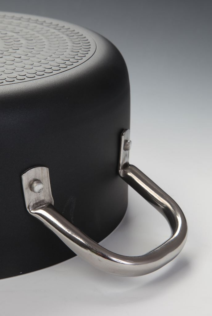 Casseruola cm 20 media 2 manici Ballarini Serie Professionale 6000 mm5 cm 20 h 9 per induzione codice 6018.20