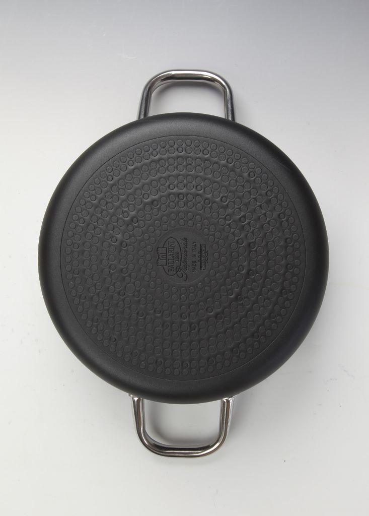 Casseruola cm 24 media 2 manici Ballarini Serie Professionale 6000 mm5 cm 24 h 11 per induzione codice 6018.24