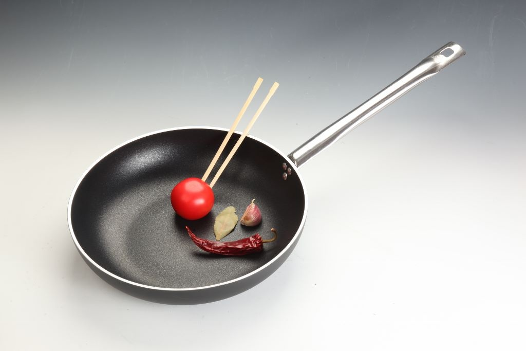 Padella svasata wok cm 36 media 1 manico Ballarini Serie Professionale 6000 mm5 cm 36 h 8 per induzione codice 6002.36