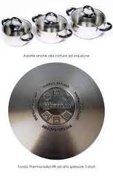 Casseruola diam 16 in acciaio inox 2 manico Bialetti BellyPot per induzione forno