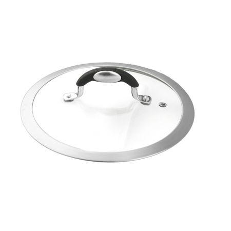 Coperchio diametro 22 universale in vetro da forno