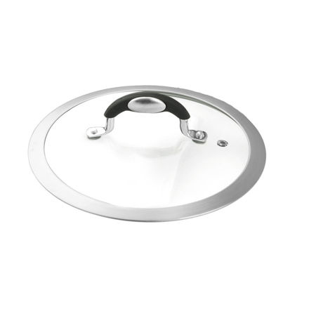 Coperchio diametro 26 universale in vetro da forno
