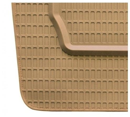 Tappeti in gomma su misura per Fiat 500