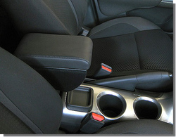 Adjustable armrest with two storages for Nissan Juke