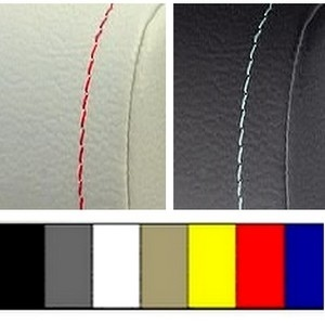 optional colored stitchings for armrest