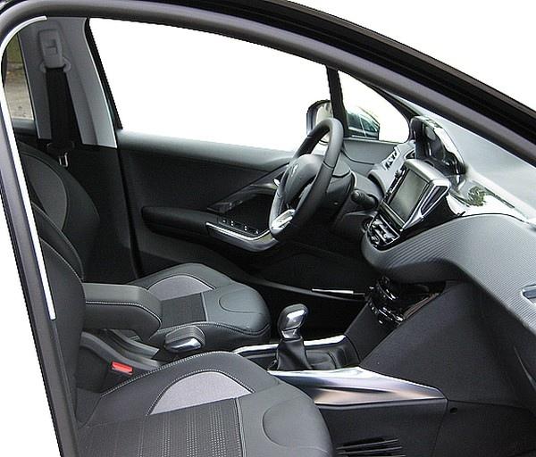 Adjustable DESIGN armrest for Peugeot 2008 (2013-2019)