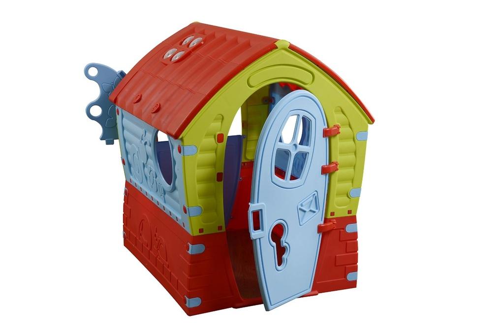 Casetta per bambini in plastica lilliput altezza 110 cm for Casetta in plastica per bambini usata
