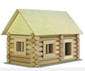 Costruzioni in Legno Naturale per Bambini Kit in Valigetta da 72 pezzi Walachia - Offerta
