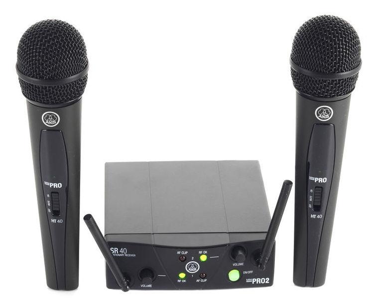 AKG WMS 40 MINI Vocal Set Dual