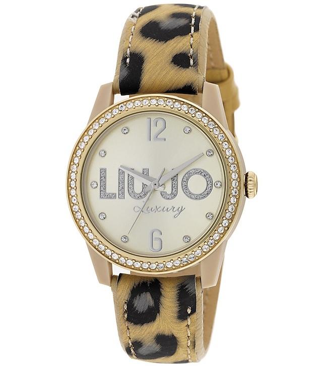 TLJ817 Orologio Skin Bianco Gold Solo Tempo Liu Jo -