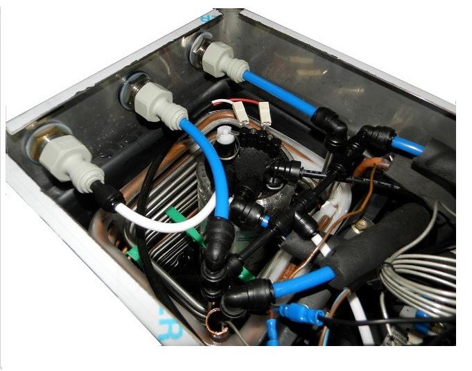 Erogatore professionale acqua fredda,frizzante e ambiente MF-50 per ristoranti,bar e trattorie fino a 50 coperti per pasto completo di impianto di depurazione professionale.