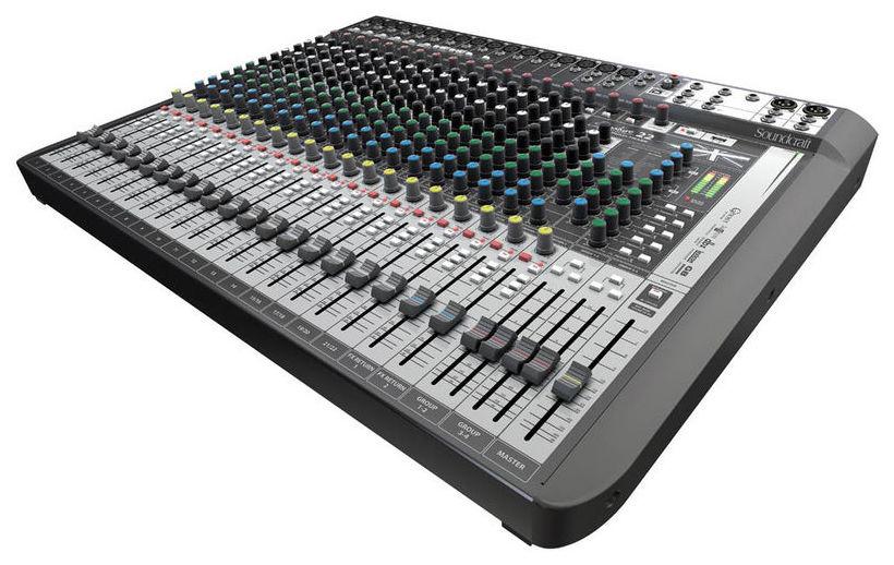 Soundcraft Signature 22 Multi-track