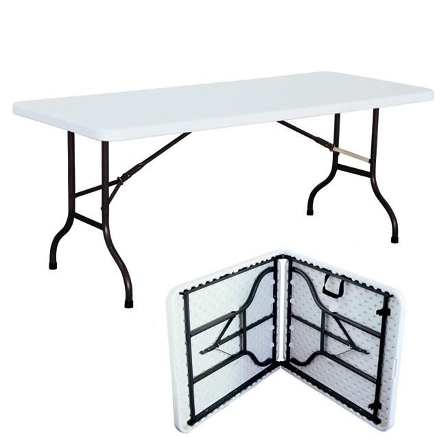 Tavoli Pieghevoli Da Mercatino.Tavolo Pieghevole Rettangolare 156 X 73 X 70 Per Catering Sagre Mercatini Buffet Riunione