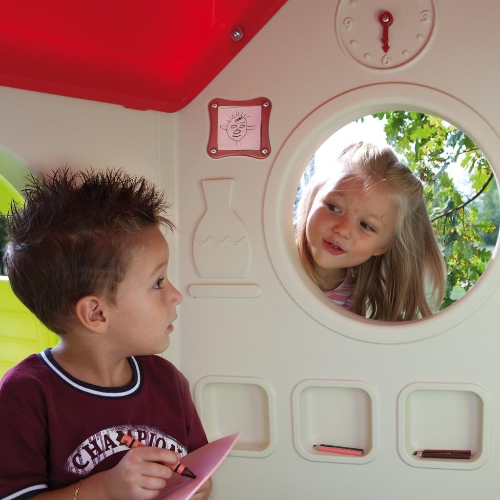 Casetta in plastica per bambini da giardino CASETTA NEL BOSCO CHICCO 30102