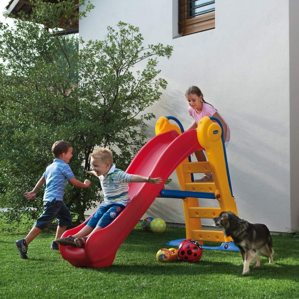 Scivolo in resina per bambini CHICCO 30200 Mondo Garden Super
