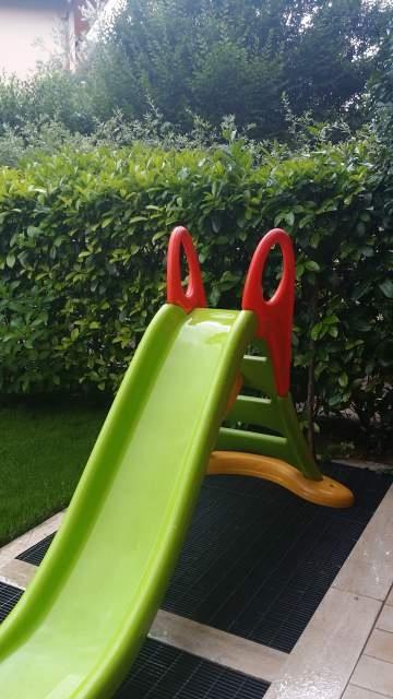 Scivolo in plastica per bambini xl water fun smoby for Scivolo smoby megagliss 2 in 1