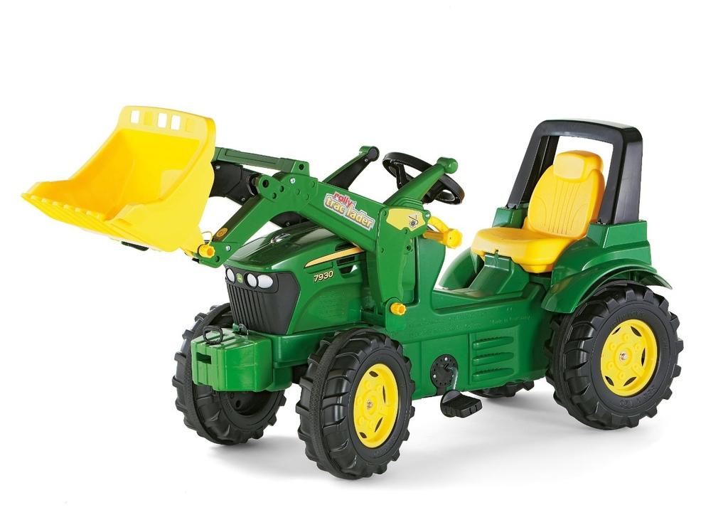 Trattore a pedale per bambini rolly toys Trolly toys TRATTORE JOHN DEERE 7930 CON RUSPA ROLLYTRAC 710027