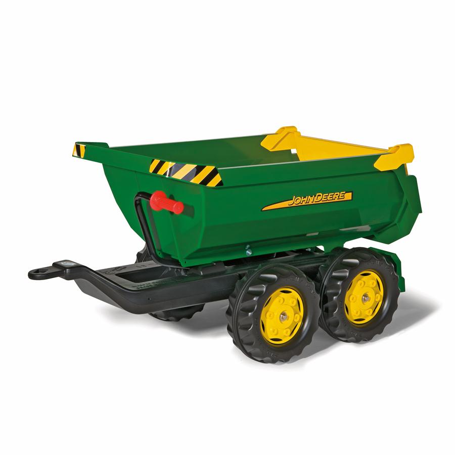 Rolly Toys Rimorchio rollyHalfpipe John Deere 122165