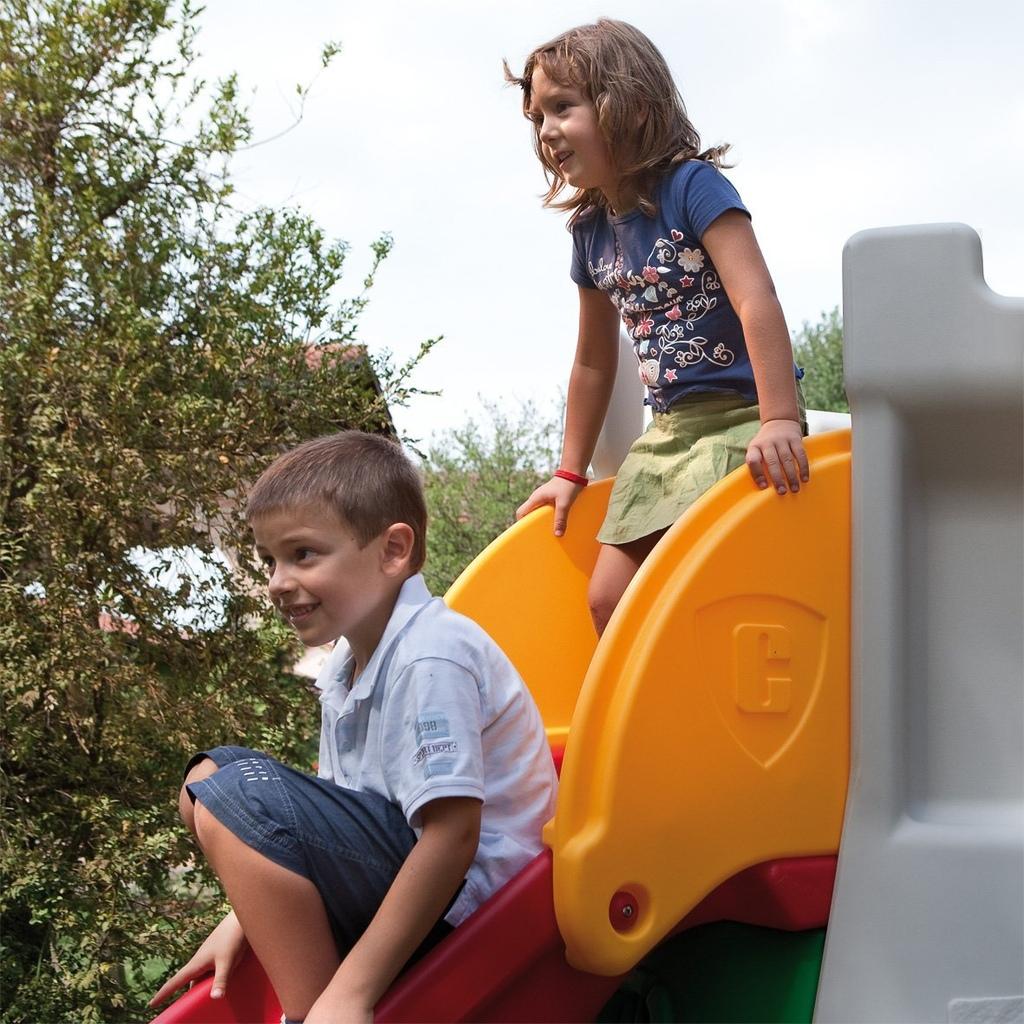 Scivolo giardino a forma di castello per bambini Chicco by Mondo 30001 - MARIA