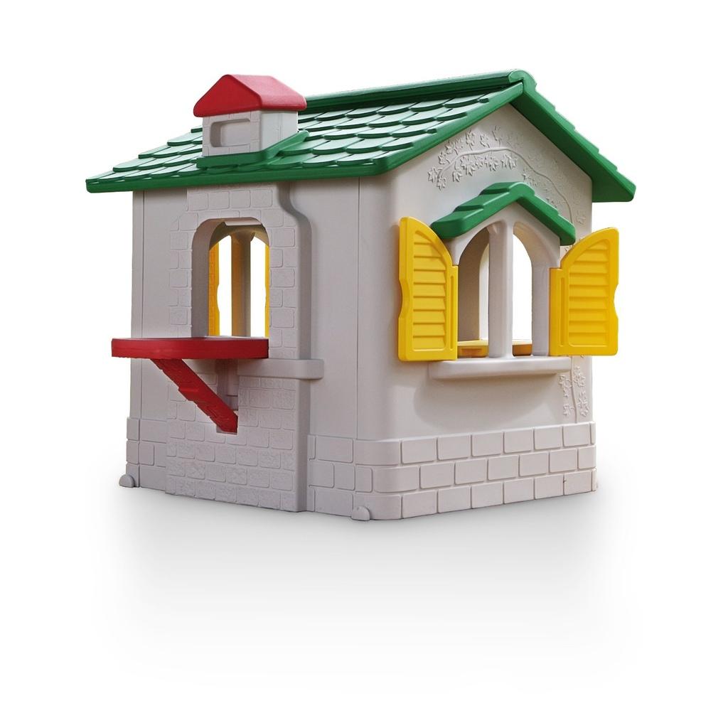 casetta per bambini da giardino in plastica chicco by