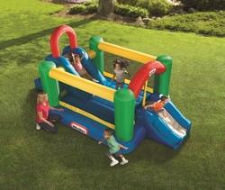 Mega Doppio Parco Giochi Gonfiabile per bambini da giardino 9062133 Little Tikes 9062133 GINO