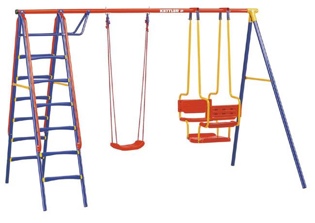 Altalena per giardino da bambini KETTLER MODELLO DELUXE Kettler 8395-360 - Altalena Deluxe Con Seggiolino A Tavoletta, Gondola E Doppia Scala