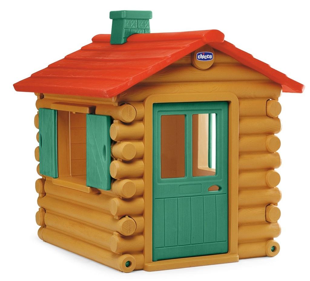 Casetta per bambini da giardino chicco simil chalet legno chicco 30101 casetta chicco - Casette per bambini da giardino ...