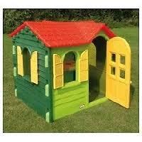 Casetta da giardino per bambini Little Tikes 440S00060 - Casetta di campagna colore Verde