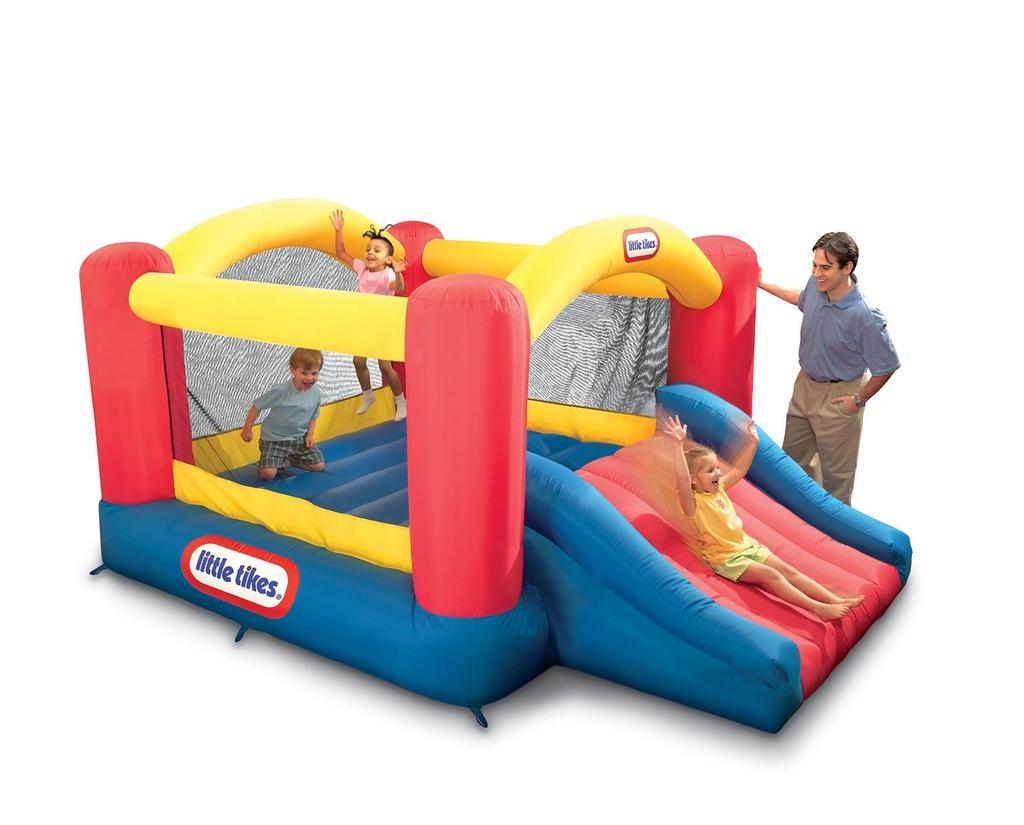 Parco Giochi Gonfiabile da giardino per bambini Little Tikes 9062072 Parco Giochi Gonfiabile