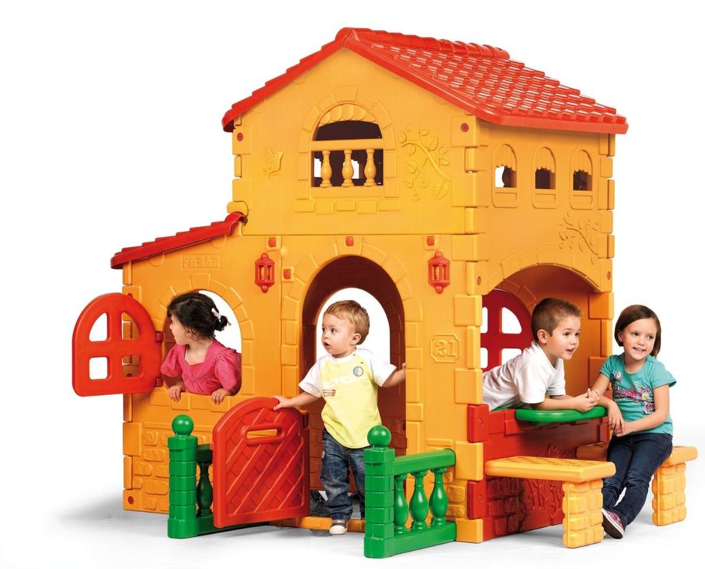 Casetta da giardino per bambini grande villa da esterno for Casetta giardino bimbi usata
