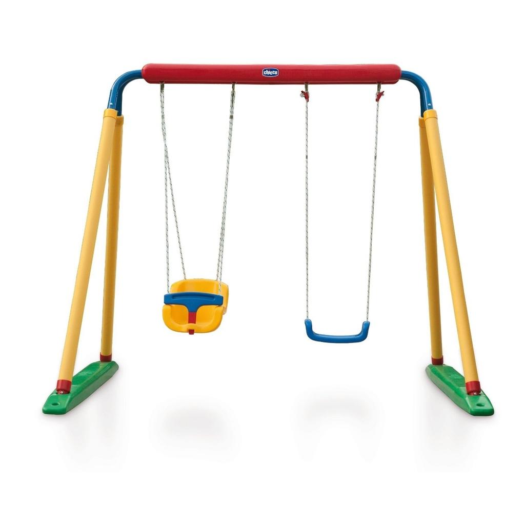 Altalena da giardino per bambini super swing center chicco for Prezzo scivolo chicco