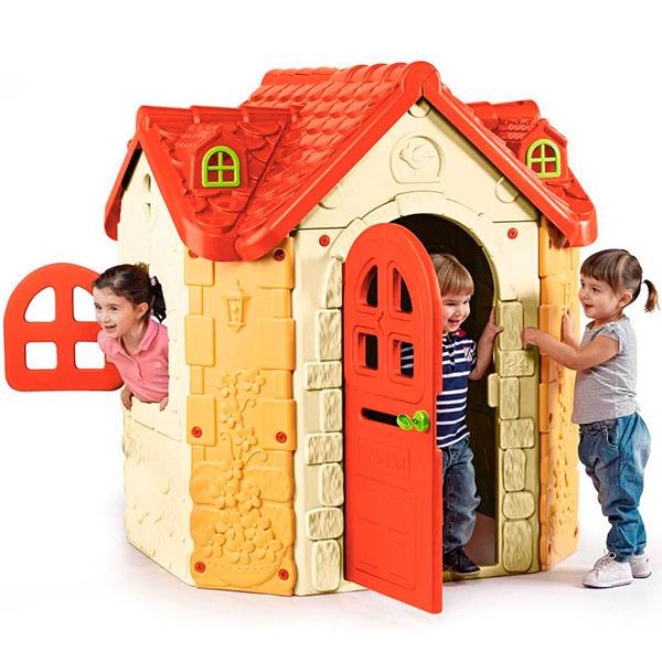 Casetta da giardino per bambini casetta il maniero for Case per bambini da giardino