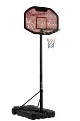 Tabellone Piantana Basket Canestro Pallacanestro BA-23 GARLANDO SAN JOSE' regolabile altezza 225 a 305 H