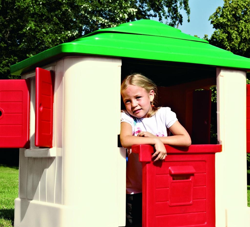 casetta da giardino per bambini chicco mondo garden 30804