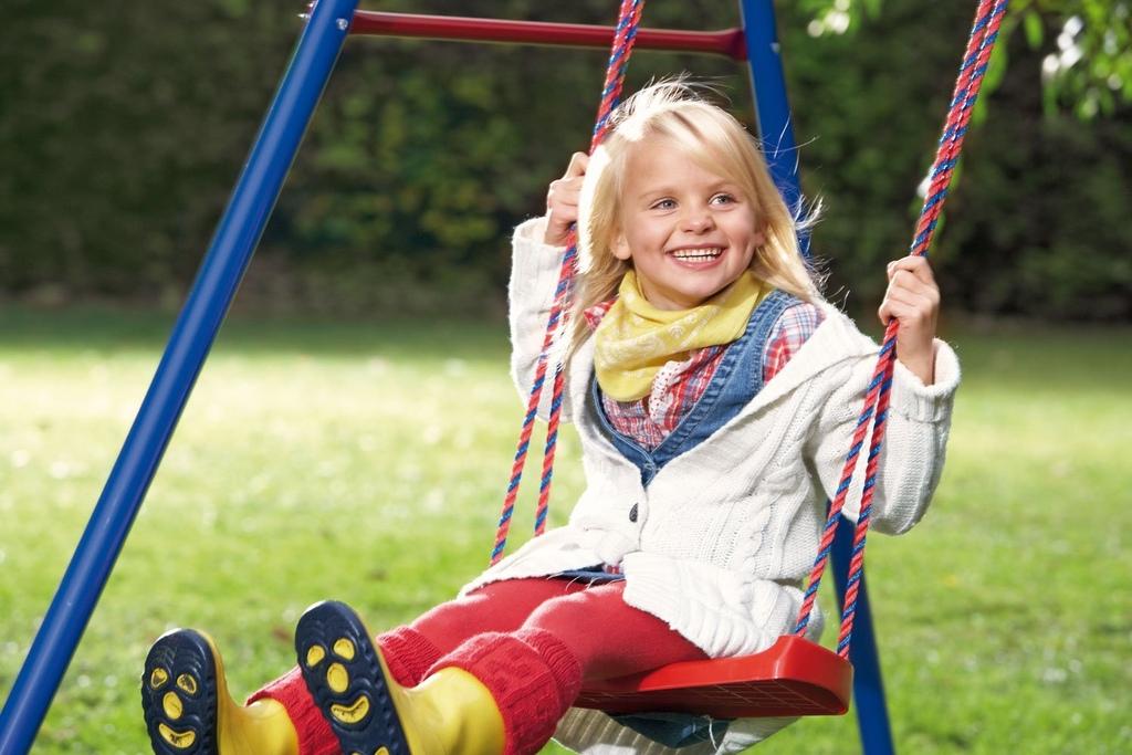 Altalena da giardino per bambini in metallo Singola KETTER BASIC 1